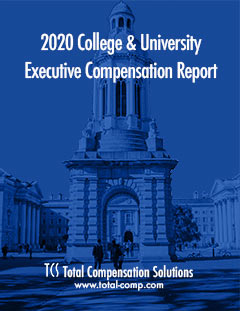College & University Executive Compensation Report Cover